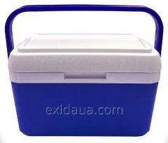Thermally insulated container of Mega 8 of l blue