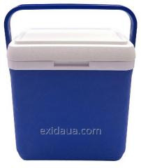Thermally insulated container of Mega 12 of l blue