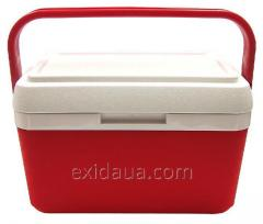 Thermally insulated container of Mega 22 of l red