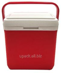 Thermally insulated container of Mega 30 of l red