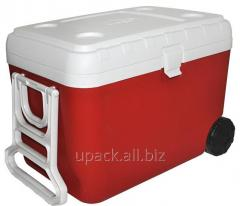 Thermally insulated container of Mega of 48 l red