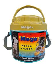 Thermally insulated container for food tourist
