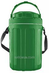 Изотермический контейнер для еды туристический Mega 4.8 л зеленый