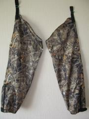 Boot covers for hunting and fishing