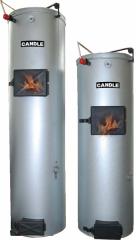 Котел Твердотопливний водонагревательный отопительный Candle