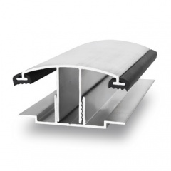 Aluminum shape base + cover 16-25 6 m (bronze)