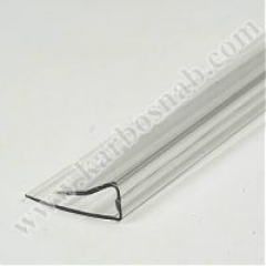 U - profile of face 2100 x 4 mm with UF protection