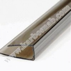 U - profile of face 2100 x 8 mm with UF protection
