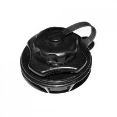 Клапан воздушный лепестковый (черный)