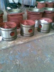 Spare parts to the VSh 3/40, 3VSh1,6-3/46, VShV