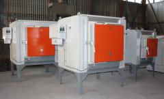 The CHO-4.8.2,5/12,5 electric furnace with the fan