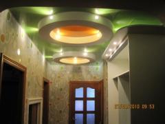 Натяжной потолок Deluxe