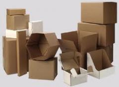 Corrugated packaging. Kiev. Gofrotara in