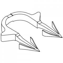 Гарпун-скоба RAUTAC для труб диаметром 14-17...