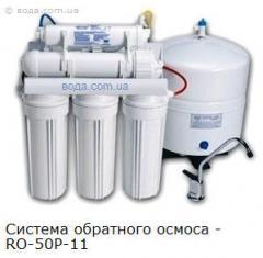 Фильтры для воды ОБРАТНЫЙ ОСМОС (многоступенчатые