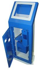 Case of metal for gaming machines, payment and