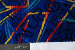 Tkanina for avtobus_v Street Blue