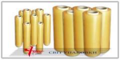 Streych the PVC film - food 10 microns