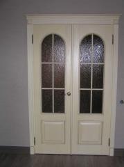 Двери двойные распашные межкомнатные Чернигов