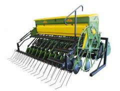 THE COMBINED MECHANICAL SEEDER-CULTIVATOR [GIOVE+