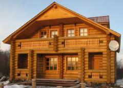 Дома срубы деревянные