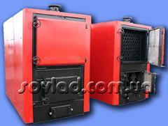 The steel three-running boiler from futerovanny