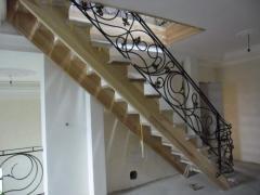 Кованые лестницы на второй этаж Житомир Украина