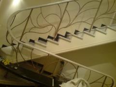 Лестницы кованые от производителя Житомир Украина
