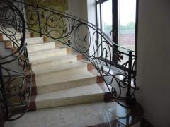Кованые винтовые лестницы на заказ Житомир Украина