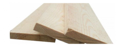 Edged board, pine