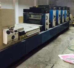 Offset sheet 4-colourful Rapida 74-4+L printing