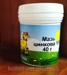 Мазь Цинкова 40гр  Коллен