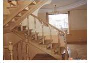Деревянные лестницы на больцах