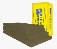 Plates easy of mineral wool