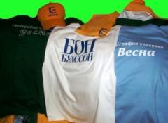 Футболки и поло с логотипами и фотоизображениями