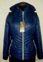Молодёжная куртка с отстежными рукавами код: 65