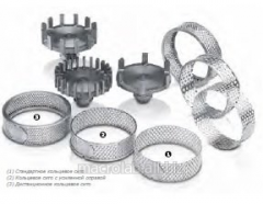 Rotors and ring a sieve to an ultracentrifugal