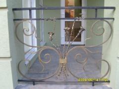 Перила для балконов из металла кованые Житомир