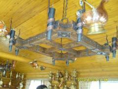 Люстры кованые подвесные Житомир