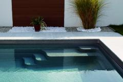 Composite pool of COMPASS POOLS XL Trainer 72 FB