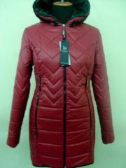 Молодёжная весенняя куртка код: 52 вишня