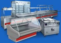Refrigerating appliances for the food industry.