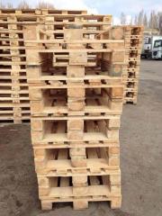 Закупка Поддонов европоддонов  деревянных