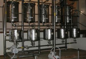 Линии производства спиртовых и водных экстрактов