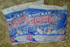 Sea salt for bathtubs of 500 g