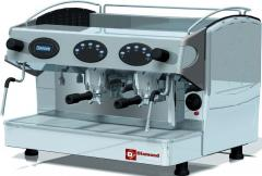 Espresso the coffee machine, 2 groups with the