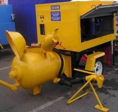 Concrete pump SO(4652355-044) pneumosupercharger