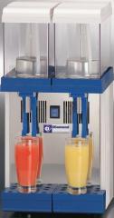 Dispenser for drinks, 2x 9 liters