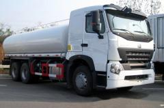 Tankers, fuel trucks, fuel-servicing trucks on the