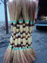 Sorghum broom house